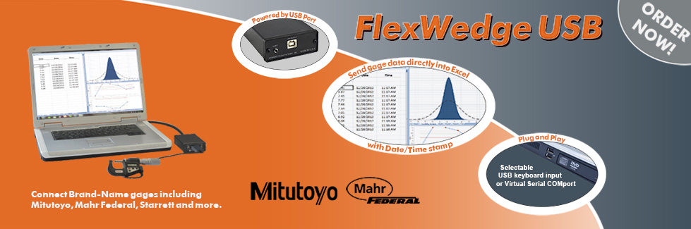 FlexWedge USB Gage Interface