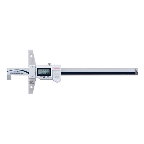 Mitutoyo Absolute Digimatic Depth Gage Series 571 Hook End