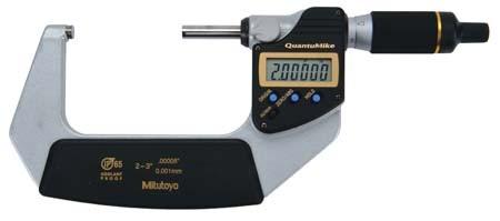 Mitutoyo 293-187 QuantuMike Coolant Proof Micrometer