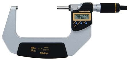 Mitutoyo 293-188 QuantuMike Coolant Proof Micrometer