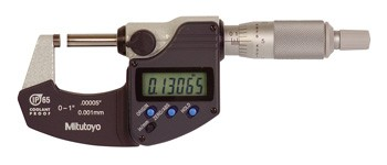 Mitutoyo 293-340 Coolant Proof Micrometer, IP65