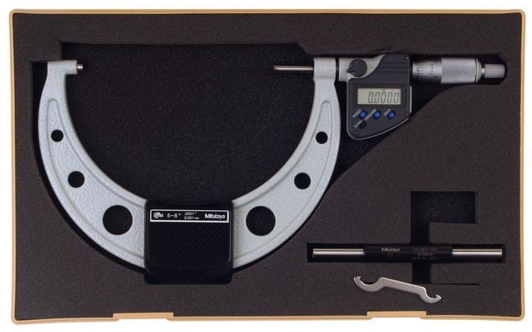 Mitutoyo 293-351-10 Coolant Proof Micrometer, IP65