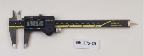 Mitutoyo 500-175-20 ABSOLUTE Digimatic Caliper with SPC output