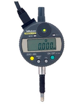 Mitutoyo 543-282 ABSOLUTE Digimatic Indicator with SPC output, Green/Red LED GO/NG Signal, ID-C