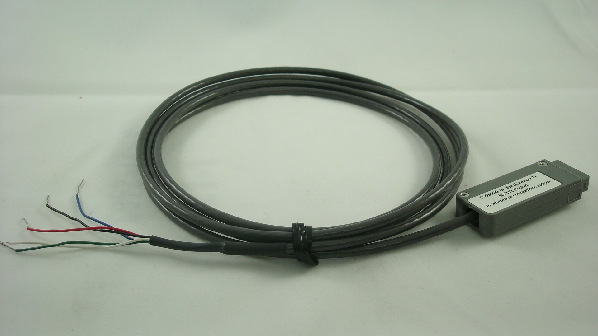 C-8000-06 RS232 Pigtail to 10 pin connector (6 ft)