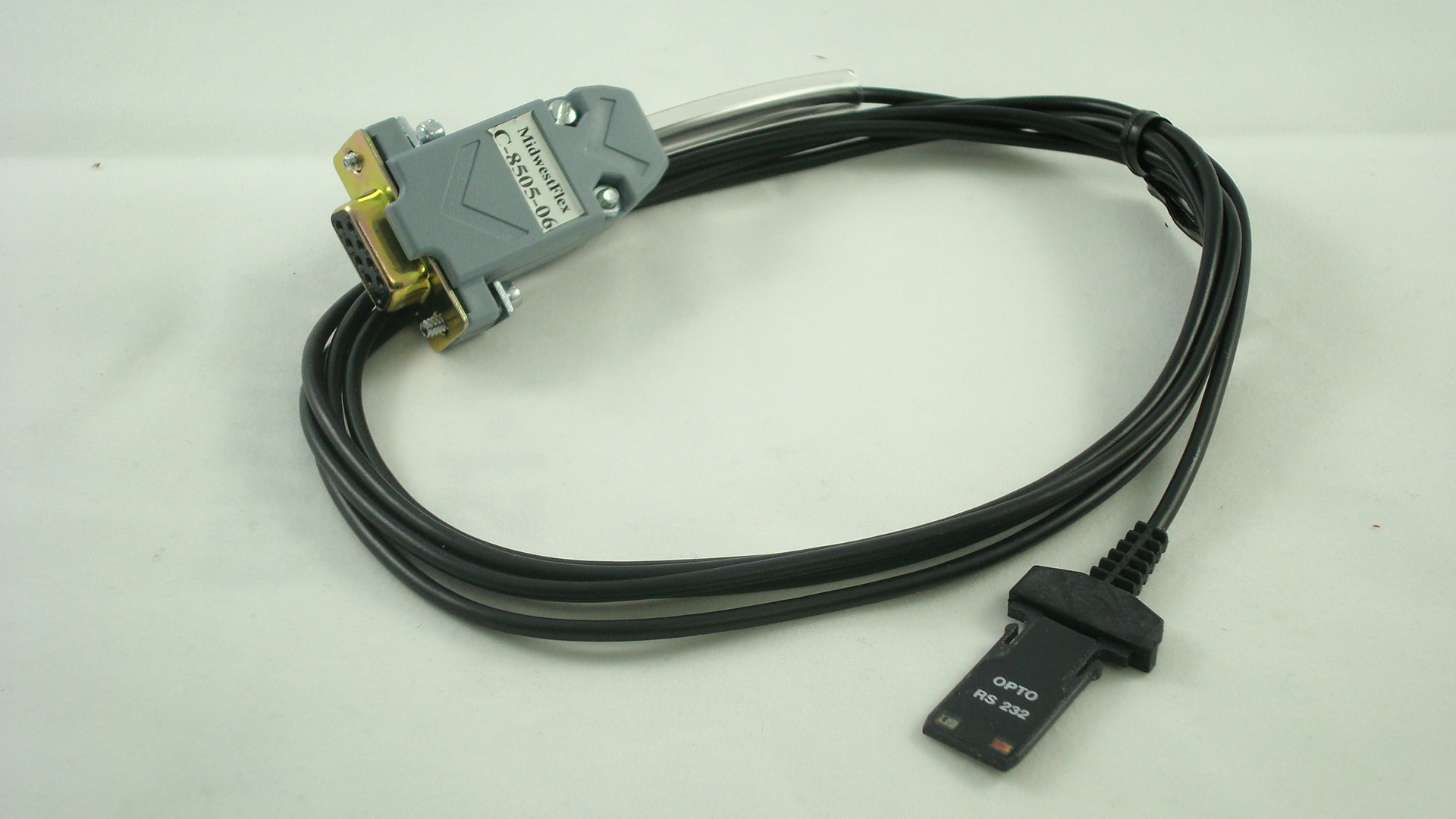 C-8505-06 Opto/RS232 Cable with Footswitch Jack to DB9 Female connector (6 ft)