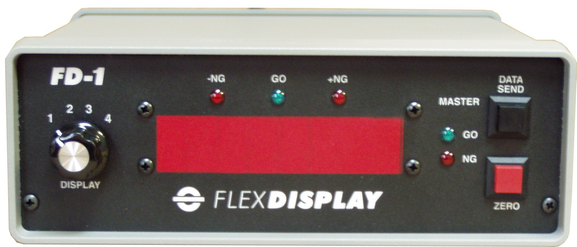 FlexDisplay Gage Interface & Remote Display FD-1 (Front)