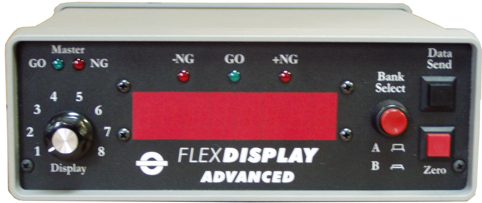 FlexDisplay Gage Interface & Remote Display FD-1ADV (Front)