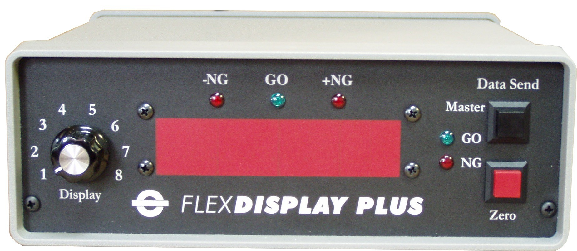 FlexDisplay Gage Interface & Remote Display FD-1PLUS (Front)