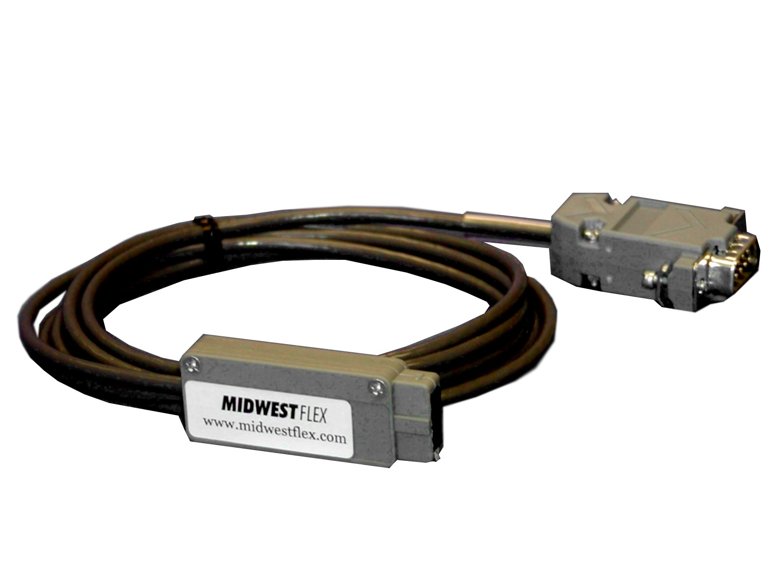 C-96551-06 FlexConnect DB9 Male RS232 Null Modem without Handshaking to Digimatic output (6 ft)