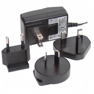 International Power Supply with universal adapters