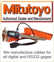 We are a stocking distributor for Mitutoyo